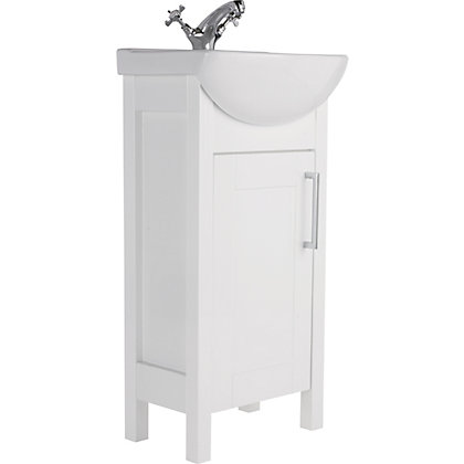 Image for Winslow 450mm Vanity Unit - White from StoreName