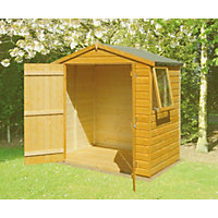 Homewood Double Door Shiplap Apex Shed - 4ft x 6ft
