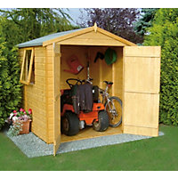 Homewood Double Door Shiplap Apex Shed - 6ft x 6ft