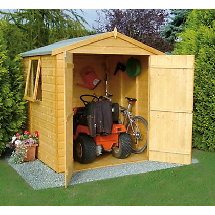 Image for Homewood Double Door Shiplap Apex Shed - 6ft x 6ft from StoreName