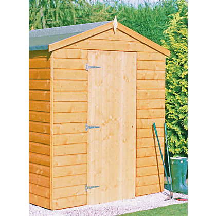 Image for Homewood Shiplap Apex Shed - 7ft x 5ft from StoreName