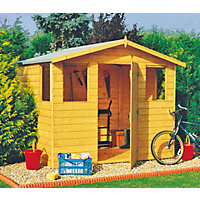Homewood Orkney Apex Shed - 8ft x 6ft