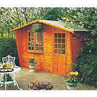 Homewood Goodwood Wooden Summer House - 8ft 9in x 5ft 10in