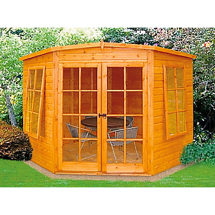 Image for Homewood Hampton Corner Summerhouse - 6ft 9in x 6ft 9in from StoreName