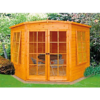 Homewood Hampton Corner Summerhouse - 7ft 5in x 7ft 5in