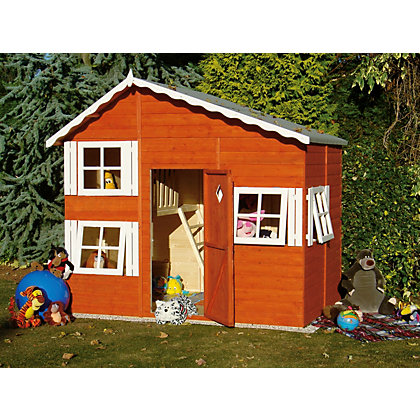 Image for Homewood Loft Playhouse 8 x 6ft from StoreName