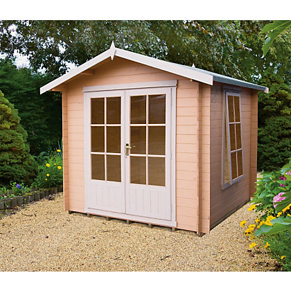 Image for Homewood Barnsdale 19mm Cabin - 7ft 10in x 7ft 10in from StoreName