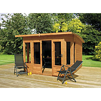 Mercia Helios Curved Roof Summerhouse - 8ft x 8ft