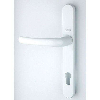 Image for Yale PVCU Door Handle - 215/92mm - White from StoreName