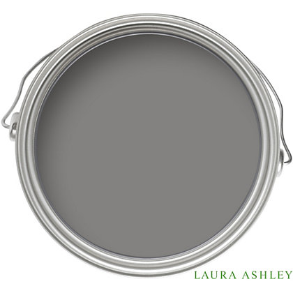 Image for Laura Ashley Pale Charcoal - Matt Emulsion Paint - 100ml from StoreName