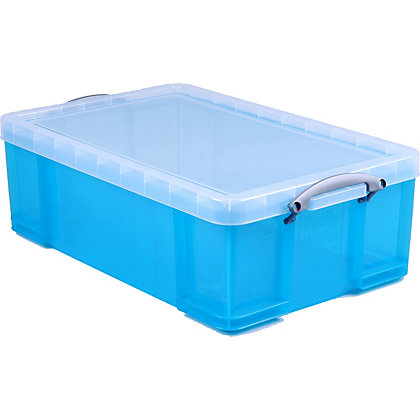 Image for Really Useful 50L Storage Box - Blue from StoreName