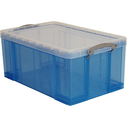Image for Really Useful 64L Storage Box - Blue from StoreName