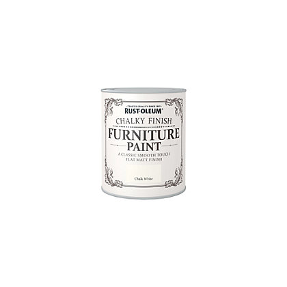 Image for Rust-Oleum Chalk White - Furniture Paint - 125ml from StoreName