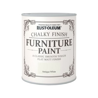 Rust-Oleum Antique White - Chalky Furniture Paint - 750ml