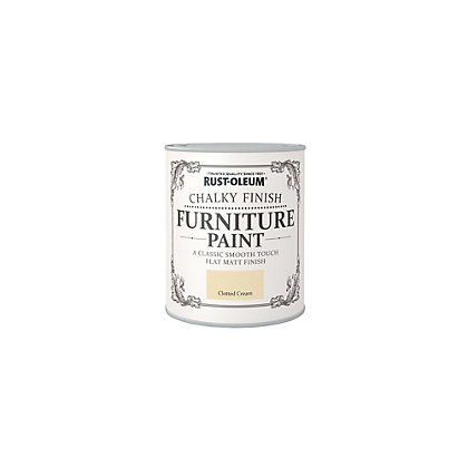 Image for Rust-Oleum Clotted Cream - Furniture Paint - 125ml from StoreName