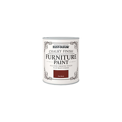 Image for Rust-Oleum Fire Brick - Furniture Paint - 125ml from StoreName
