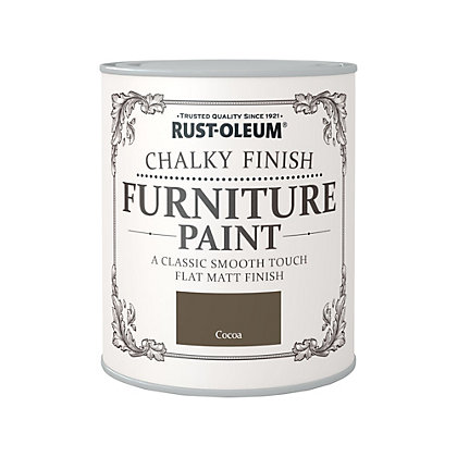Image for Rust-Oleum Cocoa - Chalky Furniture Paint - 750ml from StoreName