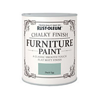 Rust-Oleum Duck Egg - Chalky Furniture Paint - 750ml
