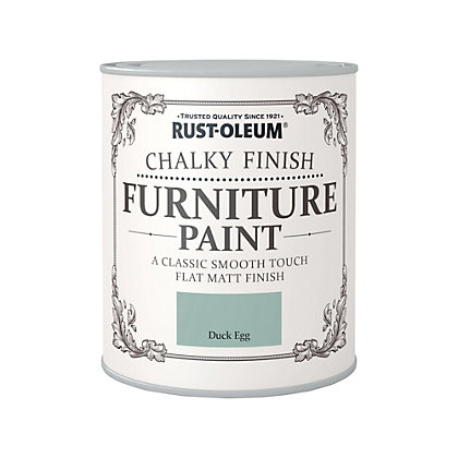 Image for Rust-Oleum Duck Egg - Chalky Furniture Paint - 750ml from StoreName