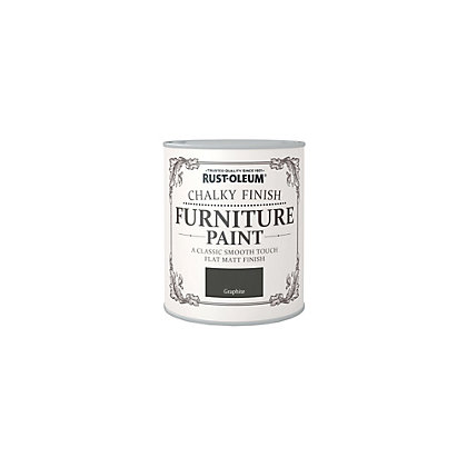 Image for Rust-Oleum Graphite - Furniture Paint - 125ml from StoreName