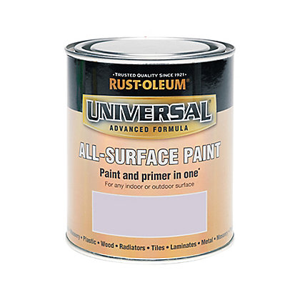 Image for Rust-Oleum Universal All Surface Paint Satin Misty Grey 750ml from StoreName