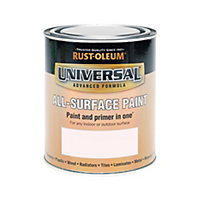 Rust-Oleum Universal All Surface Paint Satin Rose 750ml