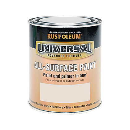 Image for Rust-Oleum Universal All Surface Paint Satin Warm Taupe 750ml from StoreName
