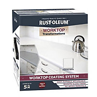 Rust-Oleum Kitchen Worktop Transformation Kit Diamond White