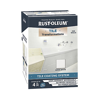 Image for Rust-Oleum Tile Transformations Kit Aspen White from StoreName