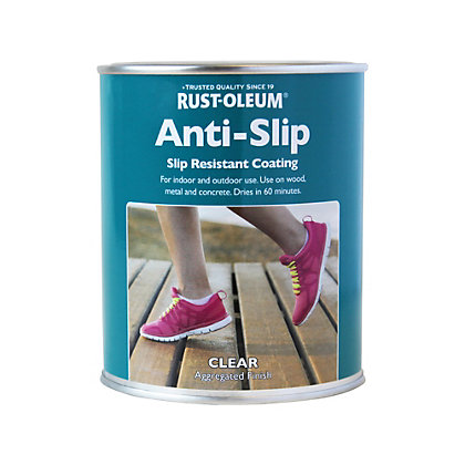 Image for Rust-Oleum Clear - Anti Slip Coating - 750ml from StoreName