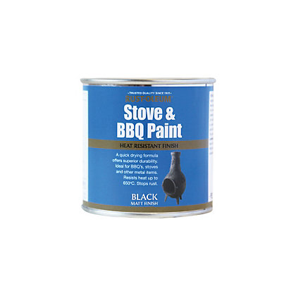 Image for Rustoleum Stove and BBQ Black - 250ml from StoreName