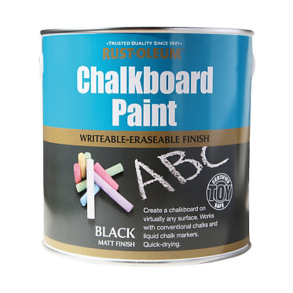 Image for Rust-Oleum Black - Chalkboard Paint - 2.5L from StoreName