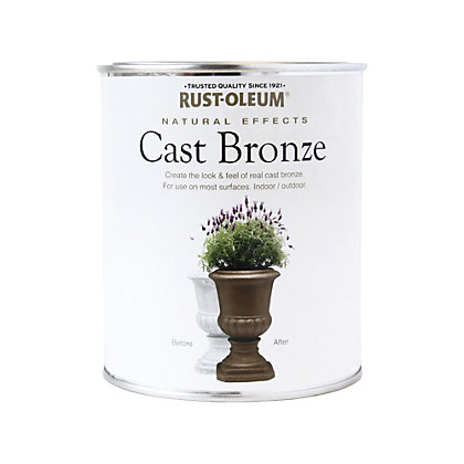 Image for Rust-Oleum Cast Bronze - Natural Effects - 750ml from StoreName