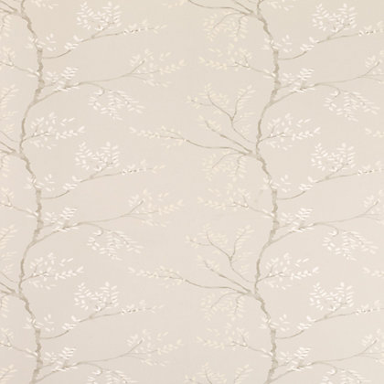 Image for Laura Ashley Elwood Wallpaper - Dove Grey from StoreName