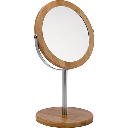 Image for Eden Bamboo Free- Standing Mirror from StoreName