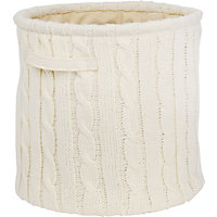 Knitted Storage Large - Cream