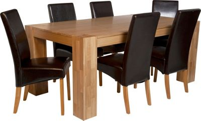 Raye Wooden Dining Table and 4 Dark Chairs Best Price from  : 298204RZ001largeampwid800amphei800 from www.247homechic.co.uk size 800 x 800 jpeg 43kB