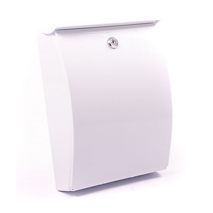Image for All Weather White Letterbox from StoreName