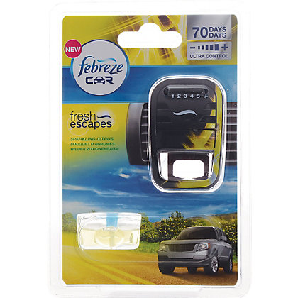 Image for Febreze Car Air Freshener- Sparkling Citrus 7ml from StoreName