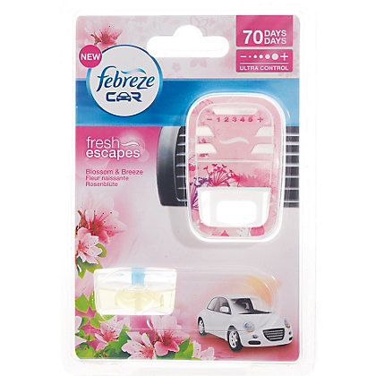 Image for Febreze Car Air Freshener Blossom And Breeze- 7ml from StoreName