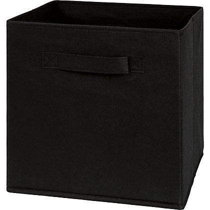 Image for Non-Woven Storage Box Black from StoreName