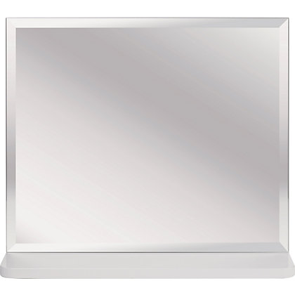 Image for Aliso Wall Mirror - White Gloss from StoreName