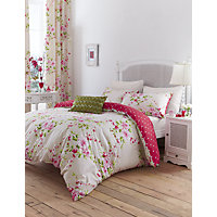 Canterbury Duvet Cover Set - Red - Double