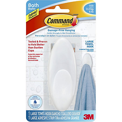 Image for 3M Command Large Towel Hook from StoreName