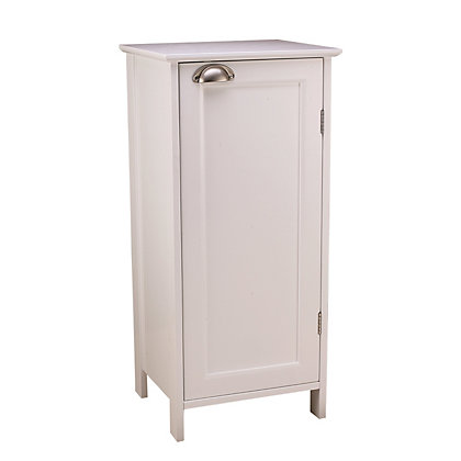 Georgia free standing bathroom door cabinet for Homebase kitchen cabinets