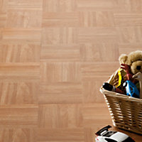 Value Vinyl Tile Cross Wood - 0.56 sq m per Pack