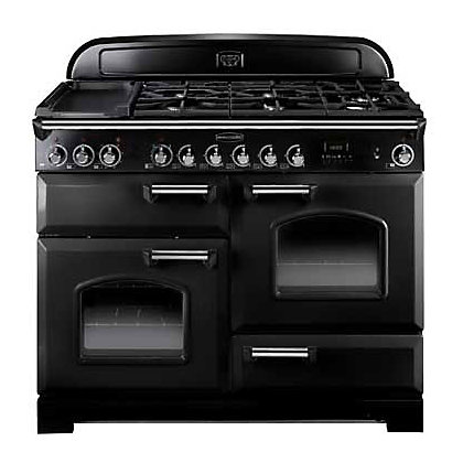Image for Rangemaster Classic Noir 72990 110 Dual Fuel Cooker - Black from StoreName