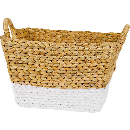 Image for Large Storage Basket - Natural White from StoreName