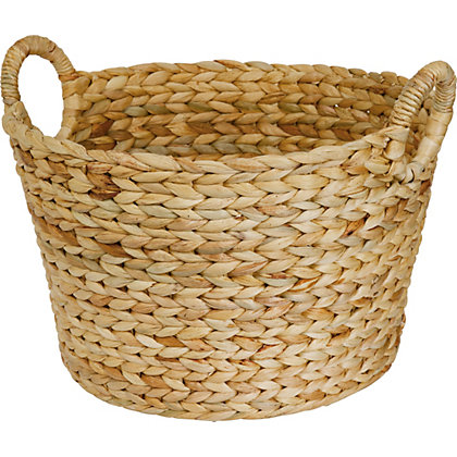 Image for Large Round Storage Basket - Natural from StoreName