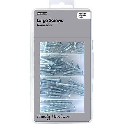 Image for Homebase Handy Hardware - Large Screws from StoreName